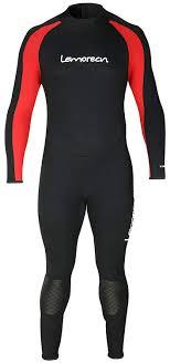 Lemorecn Wetsuits Size Chart Lemorecn Wetsuits Jumpsuit Neoprene 3 2mm Full Body Diving Suit Black Red 3xl