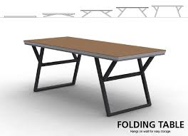 Most Design Folding Table On The Wall Yanko