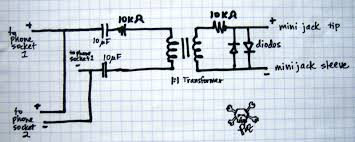 how to build a telephone recording circuit from an old modem circuitmodem phone socket