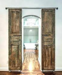 barn door ideas for pantry cool sliding doors entry to master bathroom i love the rack b