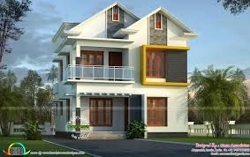 Small Picture Cute small Kerala home design Kerala home design and floor plans