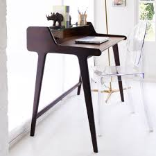 Small Writing Desk For Bedroom The Orwell Writing Desk With Removable Glass Top Steals