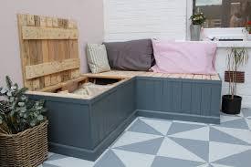 do it yourself pallet furniture. DIY Pallet Bench With Storage Do It Yourself Furniture