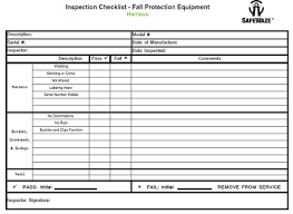 Common health & safety inspection templates. Fall Protection Training Safewaze University Safewaze