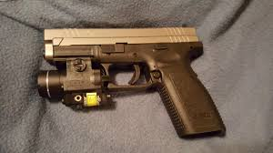 Best Tactical Light For Xdm My Springfield Xd Chambered In 9mm Light Laser Combo