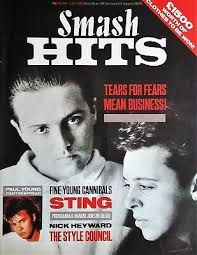 Smash Hits June 1985 Tears For Fears Fine Young Canibals
