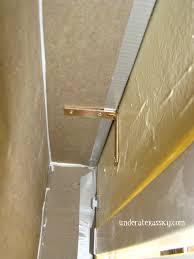Diy Wood Cornice Cornice Board From Foam Insulation Board