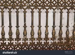 Cast Iron Fence Designs Wrought Iron Gate Door Fence Window Stock Photo Edit Now