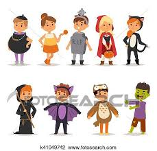 halloween costume clip art. Unique Clip Clipart  Halloween Costume Kids Vector Fotosearch Search Clip Art  Illustration Murals In Costume Art