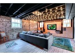 unfinished basement ideas on a budget. Cheap Basement Ideas Unfinished Ceiling Semi Finished Best On A Budget