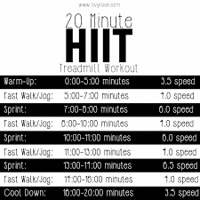 20 minute hiit treadmill workout 7 treadmill workouts for weight loss