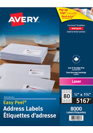 Avery 5167 Labels
