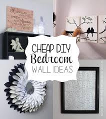 Diy Wall Decor Ideas For Bedroom Interesting Design Inspiration