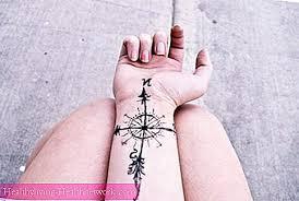 Kompas Tetování Pro štěstí Péče O Pleť 2019