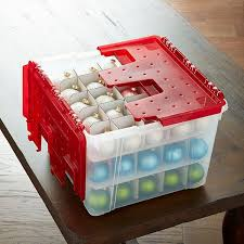 Container Store Ornament Storage Enchanting WingLid Ornament Storage Box CHRISTmas Pinterest Ornament