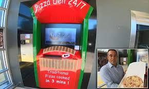 Australian Vending Machines Best Australia Launches Its First Pizza Vending Machine Woodfired