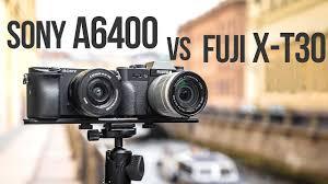 Sony A6400 против <b>Fujifilm X</b>-<b>T30</b>. Тест-сравнение - YouTube