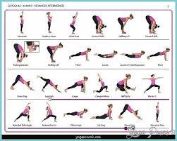 Basic Yoga Poses For Beginners Chart Yogaposes8 Com