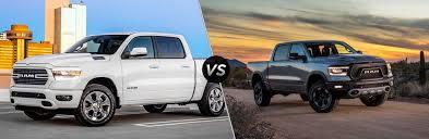 2019 Ram 1500 Big Horn vs Rebel