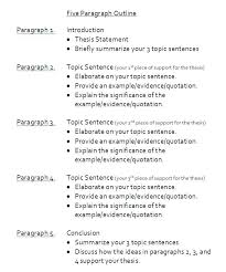 Examples Of Essay Outlines Format Sample 5 Paragraph Essay Outline ...