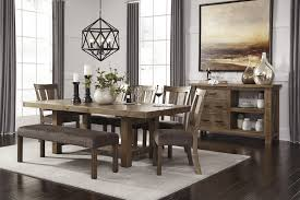 extendable dining room table by signature design by ashley. signature design by ashley tamilo rectangle counter height table with leaf - wayside furniture pub tables extendable dining room g