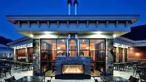 indoor outdoor fireplace double sided versatile propane fireplaces doubl double sided fireplace indoor outdoor
