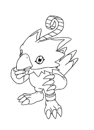 Small Picture Digimon Coloring Pages Taichi Cartoon Coloring pages of