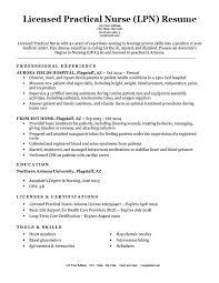 Licensed Practical Nurse Lpn Resume Sample Best of Example Of Lpn Resume Licensed Practical Nurse Resume Sample