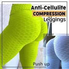 Women's Anti-Cellulite Compression Leggings High Waist <b>Slim</b> ...