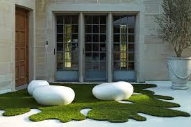 artificial grass rug img source houzz com