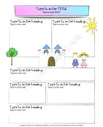 Awesome Winter School Newsletter Template Pictures Presents
