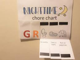 Simple Diy Magnetic Chore Chart For Toddlers With Free
