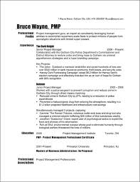 44 Best Project Manager Resume Sample Doc | Resume Template