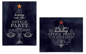 holiday party invitation template free christmas party invitation templates combined with office