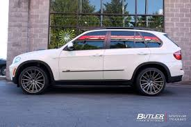 BMW 3 Series 2012 bmw x5 tire size : BMW X5 with 22in Vossen VFS2 Wheels exclusively from Butler Tires ...