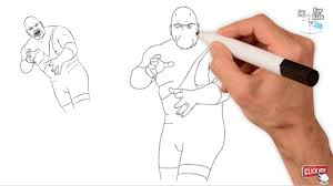 wwe the big show amazing drawing