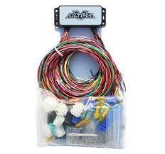 chopper wiring harness electrical components ebay simple motorcycle wiring harness at Custom Chopper Wiring Harness