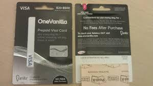 visa gift card vanilla photo 1