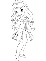 Small Picture Little Princess coloring pages Free Printable Little Princess