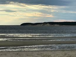 Tide Chart Cape Cod Wellfleet Low Tide And Great Island Picture Of Indian Neck Beach