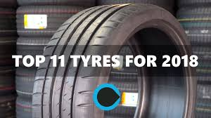 11 of the best car tyres for 2018 - YouTube