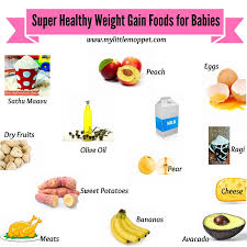 healthy weight gaining foods fro es