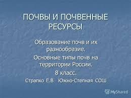 России Реферат Скачать Почвы России Реферат Скачать