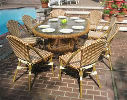 9 piece 72 oval cafe dining set with