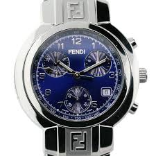 mens fendi watches check out this fendi zucca chronograph blue dial men s wrist watch