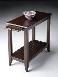 small chairside table small tables small black chairside table