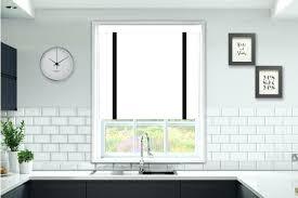 White Wooden Blinds Slat Blind Black Tape Faux Wood Home Depot