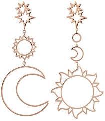 FEDULK Women Bohemia Style Star Sun Moon ... - Amazon.com