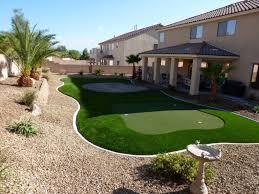 artificial grass las vegas. Las Vegas Backyard Design Artificial Grass Synthetic Turf Pavers Putting Landscape Set T