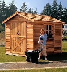 cedar garden shed. Modren Garden Cedarshed Rancher Shed Kit To Cedar Garden D